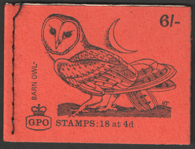 QP46 Combination GGP February 1969 Barn Owl 6/- Stitched Booklet