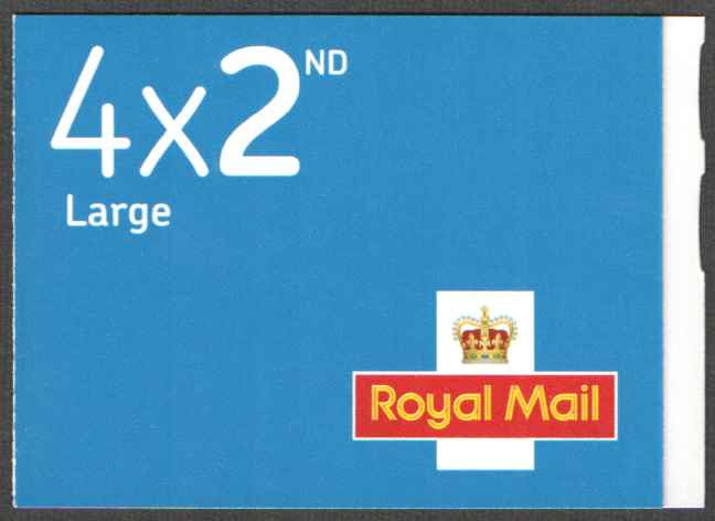RA4a / SB2(17)C M19L / MFIL SBP2u Walsall 4 x 2nd Class Large Booklet