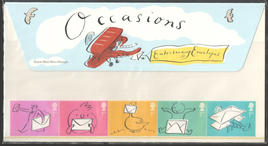 2004 Occasions Royal Mail Presentation Pack M10