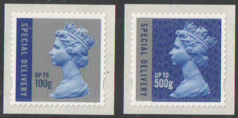 U2985 / 86 MA10 Special Delivery 100g & 500g Unmounted Mint
