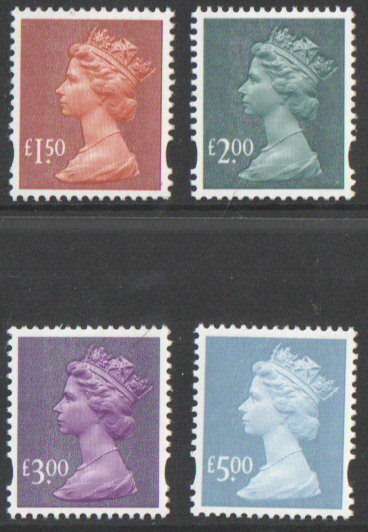 Y1746 / 49 Gravure High Value Machins unmounted set of 4